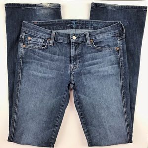 7 FAM A Pocket Boot Cut/ Sm Flare Jeans 29 x 34